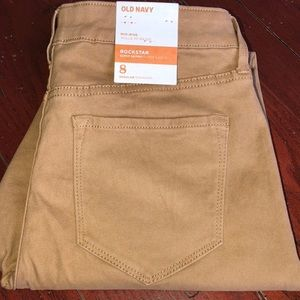 NWT Old Navy Super Skinny Rock Star pants sz 8